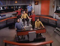 inside of Star Trek USS Enterprise ship