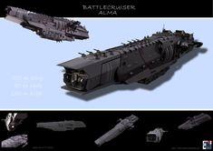 Battlecruiser Alma by MASCH-ARTDesign