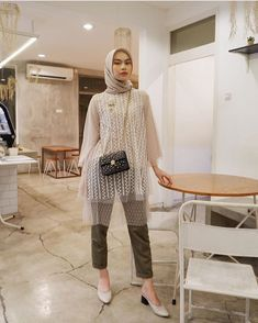 Kebaya Modern Hijab, Kebaya Hijab, Kebaya Dress, Modern Hijab Fashion, Kebaya Muslim, Batik Fashion, Hijab Fashion Inspiration, Muslim Fashion, Hijab Gown