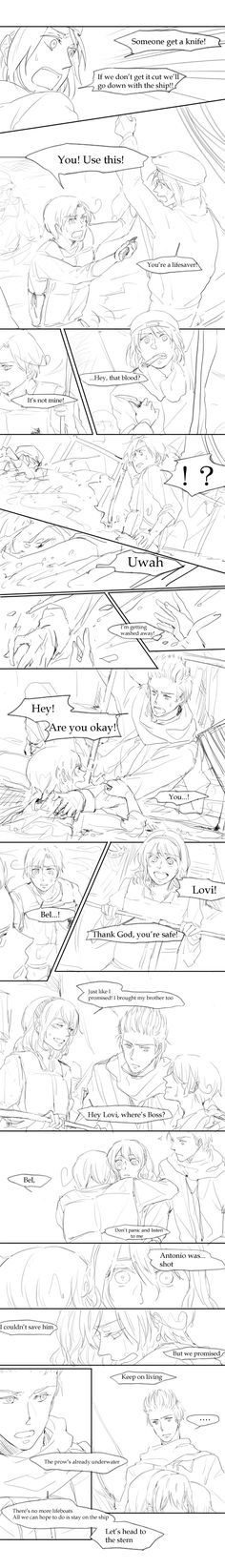 Hetalia Titanic Part 14/18 TINY PIECES OF MY HEART ARE SHATTERING EACH TIME HNG