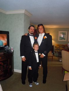 My sons and grandson, I love my boys! Blessed, Brett, Jeremy and Keegan