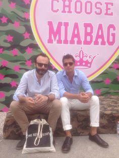 Pitti 2014, stand Mia Bag