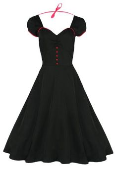Lindy Bop 'Bella' Classy Vintage 1950's Rockabilly Style Swing Party Jive Dress (XS, Black) Lindy Bop,http://www.amazon.com/dp/B00CWZACVI/ref=cm_sw_r_pi_dp_X6bfsb0NXJA1KTSQ