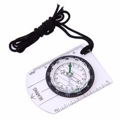 New Baseplate Ruler Map Scale Camping Hiking Survival Compass Emergency GX