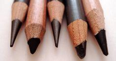 Carbon and Ebony pencils