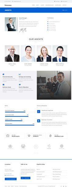 Insurance Corporate WordPress Theme