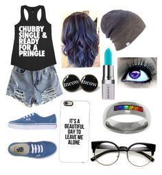 """""""Untitled #71"""" by allisonspeas ❤ liked on Polyvore featuring Vans, Casetify, Coal, Carolina Glamour Collection and Shany"""