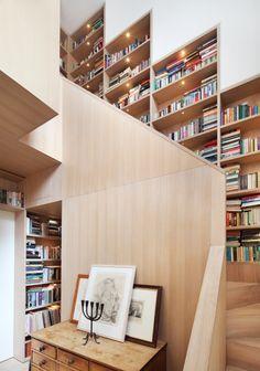 Architectural Bookshelves
