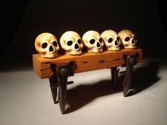 Skulls And Savage Table via Etsy.