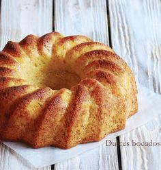 Peach vanilla bundt cake - Bundt cake de melocoton y vainilla