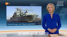 SOS News 2016 06 26    Wieder 1300 Flüchtlinge aus Seenot gerettet