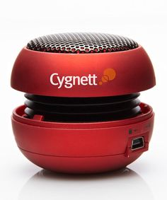 Take a look at this Cygnett Red Mini Speaker  by Tech Trends: Mobile Accessories on #zulily today!