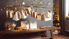 Adventní kalendář, ze kterého nepřiberete ani deko, zato vás naladí na Vánoce – Tchibo Cozy Christmas, Xmas, Christmas Calendar, Wall Lights, Ceiling Lights, Kids House, Warm And Cozy, Diy Gifts, Creations