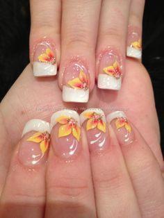 Hawaiian Flower Toe Nail Art - Bing Images
