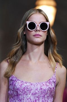 {spring & summer 2016 eye-wear trends} {flashy sunglasses} {summer inspiration from Belle & Bunty}