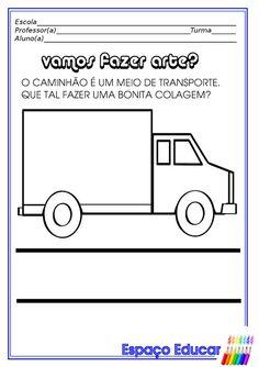Atividades de Artes para Educação Infantil! ~ ESPAÇO EDUCAR