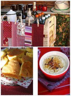 Festa, Sabor & Decoração: Idéias de decoração para festa junina