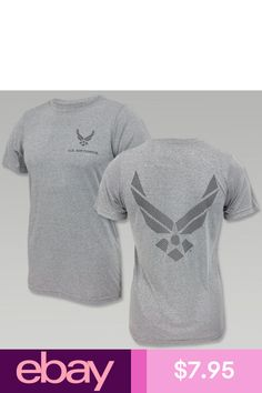 1571423d1 Authentic United States Air Force Reflective Logo Wings T- Shirts