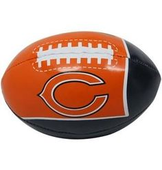 73ae3dc8a8 Chicago Bears Softee 4 inch Quick Toss in Clamshell Football Equipment