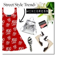 """""""Street Style Trend: Minidress"""" by pattykake ❤ liked on Polyvore"""