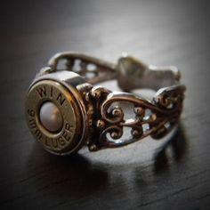 JECTZ® - Women's Pearl Filigree Bullet Ring, $49.95 (http://www.jectz.com/womens-pearl-filigree-bullet-ring/)