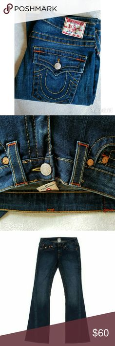 Flash sale❤❌True religion 503 jeans True religion women jeans style 503 pre-owned like new condition True Religion Jeans Boot Cut