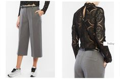 BSB Fashion #daily friday Find the trousers online here >> http://bit.ly/1QP4Bxv Find the laced top online here >> http://bit.ly/1N7Z7jw