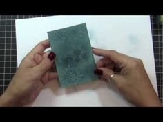 I have NEVER seen such a cool idea, using SU Crystal Effects mixed with Distilled Water as a stamp ink. Something to try in the future just need to get these supplies. Card Making Tips, Card Tricks, Card Making Tutorials, Card Making Techniques, Making Ideas, Scrapbook Cards, Scrapbooking, Stampin Up Anleitung, Tampons