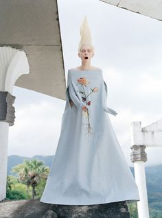 Stranger Than Paradise Tilda Swinton by Tim Walker for W May 2013 13
