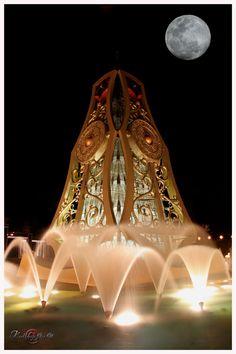 Brunei - Fountain in Jerudong Park