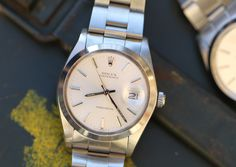 #Rolex #Oysterdate #Precision #6694 #1981 #silverdial #plexiglass #steel #steinermaastricht #Maastricht #thenetherlands