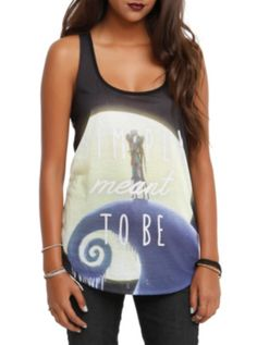 """Meant To Be"" Girls Tank Top ($19.60-24.50) The Nightmare Before Christmas - Hot Topic 