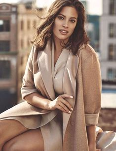Ashley Graham is the new face of Marina Rinaldi's spring campaign