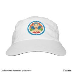 Lindo rostro femenino headsweats hat. Producto disponible en tienda Zazzle. Accesorios, moda. Product available in Zazzle store. Fashion Accessories. Regalos, Gifts. Link to product: http://www.zazzle.com/lindo_rostro_femenino_headsweats_hat-256130186661456521?CMPN=shareicon&lang=en&social=true&view=113100566167881213&rf=238167879144476949 #gorra #hat