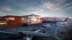 Check out what Salt Lake City International Airport will look like after renovation Salt Lake City Airport, Light Rail Station, Temple Square, Moving Water, International Airport, Plan Your Trip, Utah, Tourism, Mansions