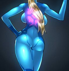 Metroid, Samus, by space jin