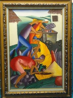 All conditions are listed as best as possible. This is a chance to add this unique item to your collection. Haitian Art, Paintings, Artist, Ebay, Paint, Painting Art, Artists, Painting, Painted Canvas