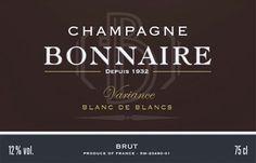 Champagne Bonnaire - Blanc de Blancs Variance