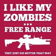 Free range zombies