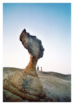By Amstrad. The queen's head rock, Taiwan