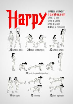 Harpy Workout