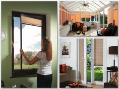 Perfect fit blinds are great for french doors, bi-fold doors, conservatories, tilt & turn windows, Upvc windows & doors ....    A great product - no more blinds flapping around. Looks like part of the window. Available as Roller, Venetian or Pleated (as shown) Blinds    Call me on 01637 871862 or email sales@zodiacinteriors.co.uk