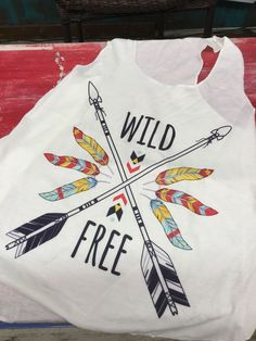 Wild and Free Tank $16.99