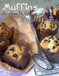 Myffins aux myrtilles hyper moelleux