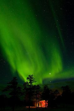 Northern Lights over Shelter | Flickr - Photo Sharing!