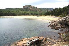 Sand Beach - Acadia National Park