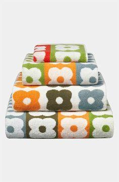 Orla Kiely 'Multi Flower Stem' Bath Towel available at #Nordstrom