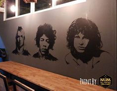 """Check out new work on my @Behance portfolio: """"Wall painting at Rocky rooster cafe."""" http://be.net/gallery/36443447/Wall-painting-at-Rocky-rooster-cafe"""