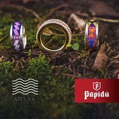 ATI'T YA' es la colección de anillos  que durante tus vacaciones en el extranjero te permite expresar la belleza de tu país y su cultura. Ven a Papidú por un anillo en plata, oro, y oro rosa con diamantes.