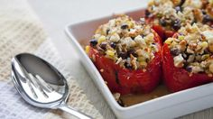 Culinary coach for Lenard's Chicken Elle Harrison shares her recipe for classic stuffed capsicums
